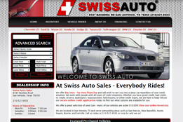 Swiss Auto Sales